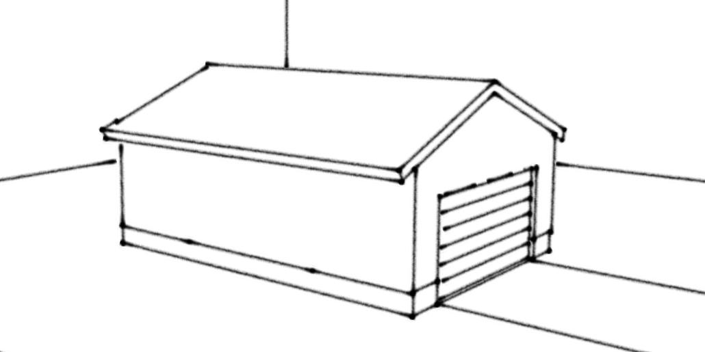 Kontrollplan för nybyggnad av garage