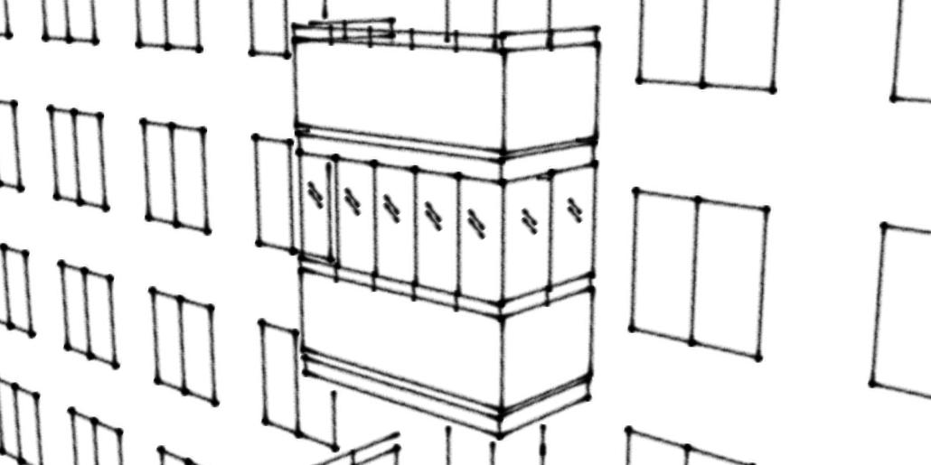 Kontrollplan för inglasning av balkong